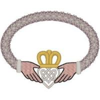 Buy cheap Christian Embroidery Designs Celtic Claddagh Marriage Design from wholesalers