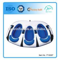 Buy cheap Towable Tube 1~3 Person Inflatable two Riders from wholesalers