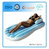 Buy cheap Pillow Top Pool Mattress with Instaflate System from wholesalers
