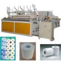 Buy cheap Toilet Roll/Kitchen Towel Machines Best price Automatic Toilet Roll Paper Machine from wholesalers