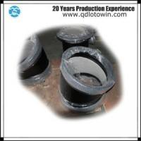 Buy cheap ISO8179 Double Socket 11.25 Deg Bend with Cement Mortar Lining Ductile Iron Pipe Fittings from wholesalers