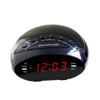 Buy cheap 0.6inch home digital pll two way am/fm led alarm clock radio from wholesalers