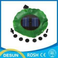 Buy cheap 7v 1.4W mini Brushless Motor Solar dc Fountain/micro floating solar water pump from wholesalers