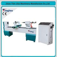 Buy cheap High Efficiency Automatic CNC Wood Lathe (TJ-1530) from wholesalers