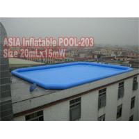 Buy cheap Large Inflatable Pool 20mLx15mW from wholesalers
