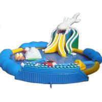 Buy cheap Giant Inflatable Shark Slide Water Park from wholesalers