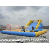Buy cheap Inflatable Zorb Ramp and Water Pool Combo from wholesalers