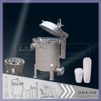 Buy cheap Bag Filter Housing for Industrial Micron Filtration from wholesalers