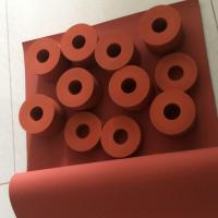 Buy cheap High Temperature Resistant Heat Transfer Silicone Roller for Printing Machine product