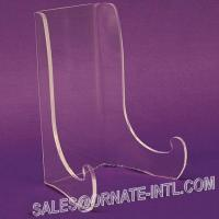 Buy cheap Acrylic easel plate display from wholesalers
