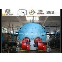 Dual burner steam boiler and hot water boiler