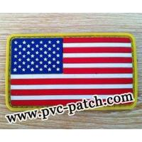 Buy cheap High Quality Flag Patch with Velcro backed from wholesalers
