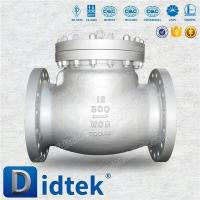 Buy cheap Cast Steel Cryogenic Swing Check Valve from wholesalers