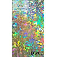 Buy cheap Hologram Films DW02 PVC hologram film from wholesalers