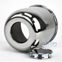 Buy cheap Stainless Steel Center Cap for 15 inch Aluminum Wheels 6 Lug 4.25 from wholesalers