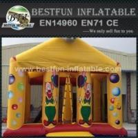 Buy cheap Funny giant Inflatables Elephant Jumping Bouncer Castle for party from wholesalers