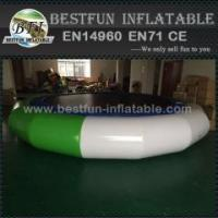 Buy cheap Inflatable Orbit Water Trampoline With Solid Net from wholesalers