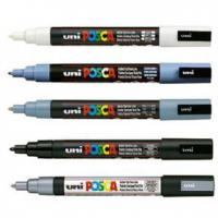 Buy cheap Posca Winter 5 Pack 1.5mm PC-3M Fine tip Markers from wholesalers