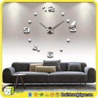 Buy cheap Wall Stickers & Decals Item wall clock decal from wholesalers