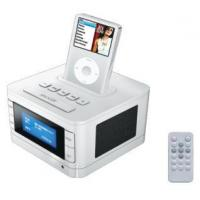 Buy cheap consumable iPod Speaker System with Alarm Clock and FM Radio from wholesalers