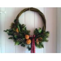 Buy cheap Art & Craft Days - Christmas Wreaths & Swags  Willow - Essex from wholesalers