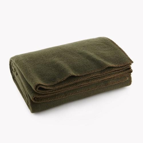 Quality Throw Military Wool Blanket for sale