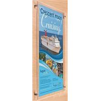 Buy cheap 24 x 36 Acrylic Sign Holder for Wall, Standoff Hardware & Magnets - Clear from wholesalers