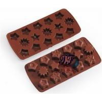 Buy cheap Wholeale smooth star shapes cookie cutter moldice silicone dessert tray from wholesalers