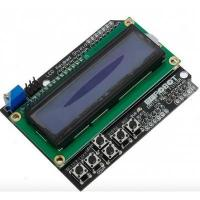 Buy cheap Keypad Shield Blue Backlight For Arduino Robot LCD 1602 Board from wholesalers