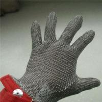 Buy cheap Short type Chain Mail Stainless Steel Gloves from wholesalers