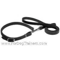 Buy cheap Police / hunting dog leash and collar (combo) from wholesalers
