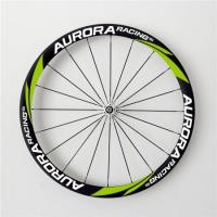 Buy cheap 650C Aero 38mm Carbon Clincher Wheelset with 20.5mm Wide Aero Spokes Road Bike Hubs from wholesalers