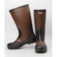 Buy cheap Chemical Resistant Rubber Boots HEBI FEIHE Rubber Chemical Resistant Boots With Brown Color from wholesalers
