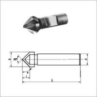 Buy cheap Solid Carbide Chamfering Milling Cutters With Weldon Shank from wholesalers