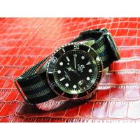 Buy cheap ALPHA SUBMARINER MATTE BLACK DIAL JAMES BOND NATO BAND AUTOMATIC WATCH MIYOTA JAPAN MOVEMENT from wholesalers