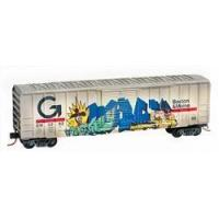 Buy cheap Micro-trains 02544400 N Scale 50' Box Car BM / Guilford Weathered (Turkey & Pilgrim) from wholesalers