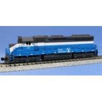 "Buy cheap Model Trains on Sale! KATO N Scale 176-3125 EMD SD45 Great Northern Big Sky Blue"" #412 from wholesalers"