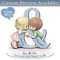 Love and Family Precious Moments Personalized Couples Figurine