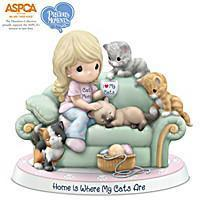 Buy cheap Animals Precious Moments Porcelain Figurine Supports ASPCA's Mission from wholesalers
