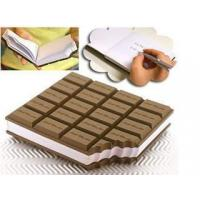 Buy cheap notebook paper on sale Buy cheap high quality notepad chocolate shape notepad from wholesalers