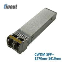 Buy cheap 10G Ethernet 40km CWDM SFP+ Transceiver from wholesalers