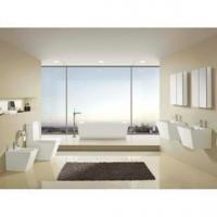 Buy cheap Bathroom suites(Washdown one-piece toilet,Hung type wash basin,Bidet) A-4089 B-4089 K-4089 from wholesalers