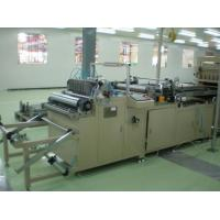 Buy cheap Customized 600mm Rotary Pleating Machine with Fast Speed Gear Collecting from wholesalers
