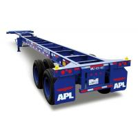 Buy cheap Gooseneck Type Skeleton Container Transport Vehicle from wholesalers
