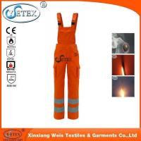 Buy cheap Safety clothing NFPA70E Cotton Flame Retardant Bib Pants for FR Protective Clothing from wholesalers