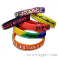 Buy cheap silicone wristband made in china from wholesalers