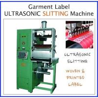 Buy cheap Label cutting machine Ultrasonic label slitting machine from wholesalers