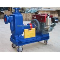 Buy cheap ZW single cylinder diesel engine self priming water pump from wholesalers
