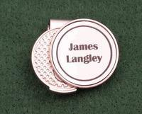 Buy cheap Christmas Decor Personalized Hat Clip Golf Ball Marker from wholesalers