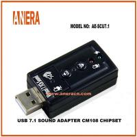 Buy cheap Type C CABLES USB 7.1CHL Sound Card AE-SCU7.1 from wholesalers
